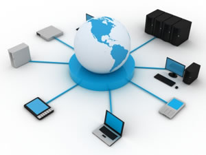 remote access, virtual private networks wide area networks, and online collaboration